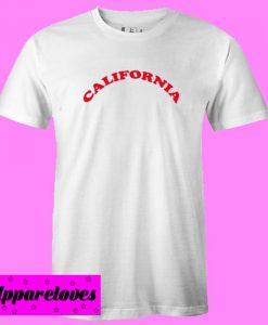 California Letter T Shirt
