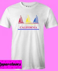 California Sailboats T Shirt