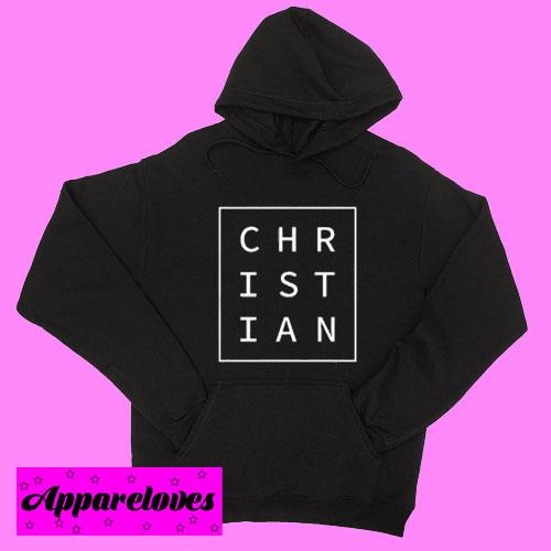 Christian Minimalist Hoodie pullover