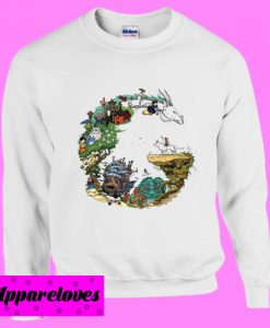 Dragon Studio Ghibli Sweatshirt
