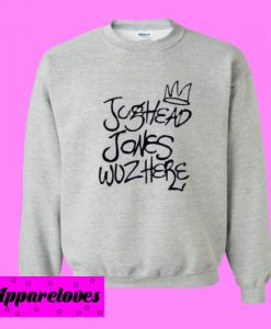 Jughead Jones Wuz Here Sweatshirt
