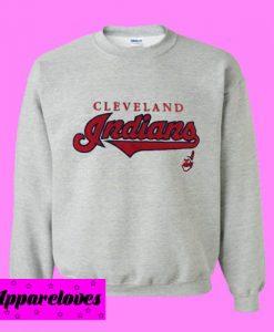 MLB Cleveland Indians Sweatshirt Men And Women