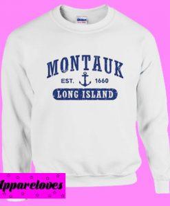 Montauk Long Island Sweatshirt Men And Women