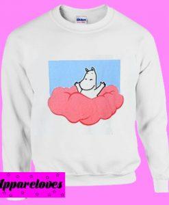 Moomina on Clouds Sweatshirt Men And Women