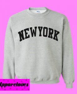 New York Grey Sweatshirt