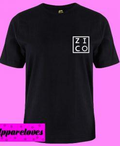Zico block T Shirt