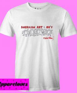 american art ot the 80's T Shirt