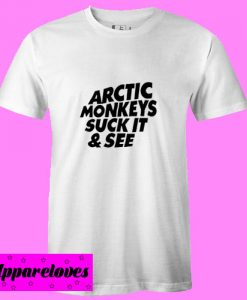 arctic monkeys suck it and see T Shirt