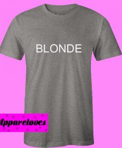 blonde T Shirt