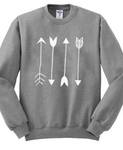 Arrows Graphic Sweatshirt DAP