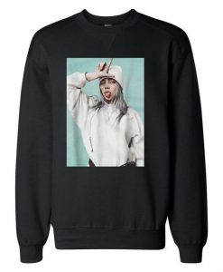 Billie Eilish Photoshot Sweatshirts DAP