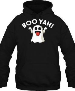 Boo Yah Ghost Hoodie ZNF08