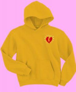 Broken Heart Sweatshirt and Hoodie DAP