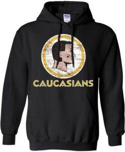 CAUCASIANS Hoodie DAP