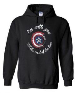 Captain America Quote Hoodie DAP