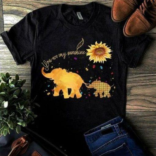 ELEPHANTS Tshirt DAP