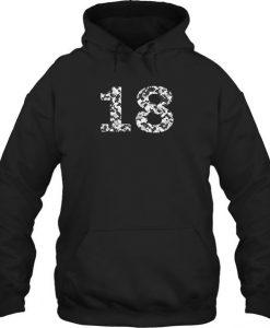 18th Birthday hoodie AY