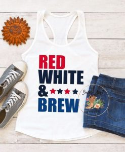 4th Of July tank TOP ZNF08