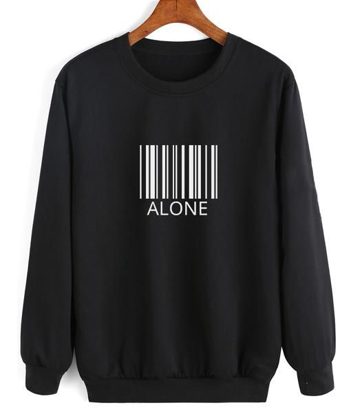 ALONE Sweatshirt DAP