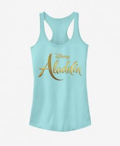 Aladdin Live Action Logo Girls Tank ZNF08