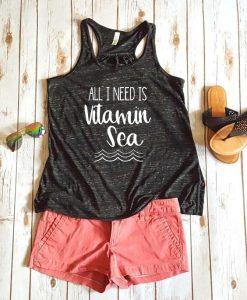 All I need is vitamin sea Women's Tank Top ZNF08