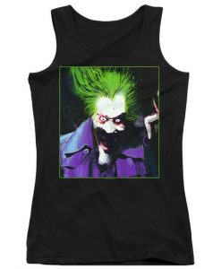 Arkham Asylum Juniors Joker Tank Top ZNF08