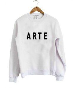 Arte font sweatshirt DAP