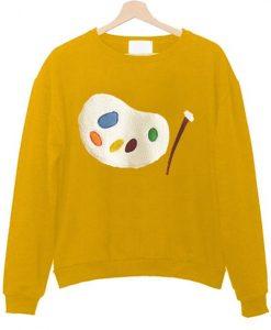 Artist Palette Sweatshirt ZNF08