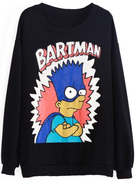 BARTMAN SWEATSHIRT ZNF08