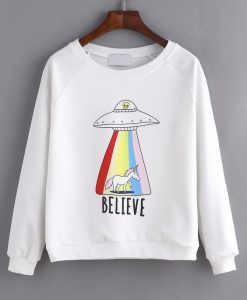 BELIEVE SWEATSHIRT AY
