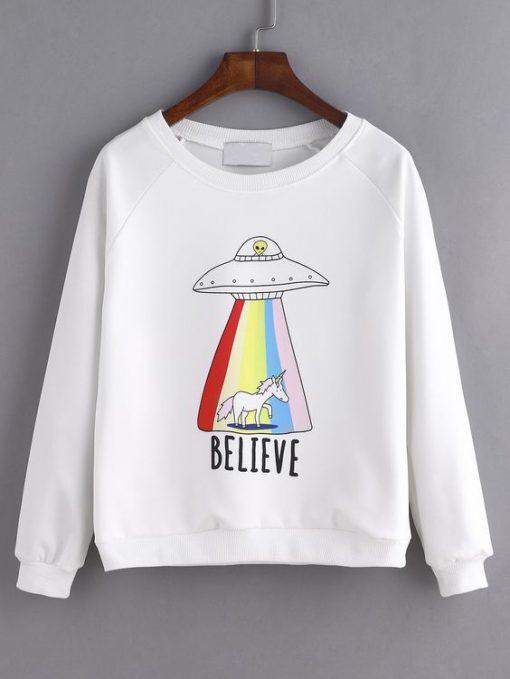 BELIEVE SWEATSHIRT AY
