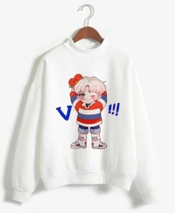 BTS Love Yourself K Pop Women Sweatshirts ZNF08