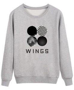 BTS Wings Classic Sweatshirt AY
