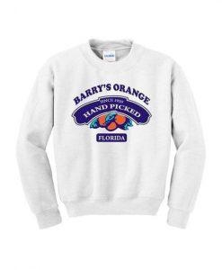 Barry's Orange Sweatshirt DAP