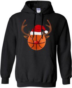 Basketball CHristmas Hoodie DAP
