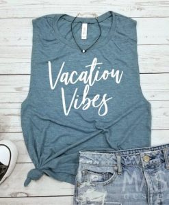 Beach tank top, beach tank, vacation tank TOP AY