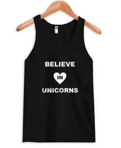 Believe in unicorn Tanktop AY