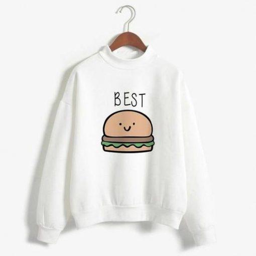 Best burger Sweatshirt ay