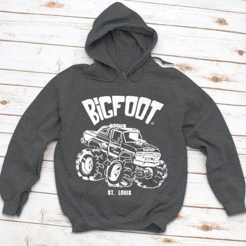 Bigfoot Hoodie ZNF08
