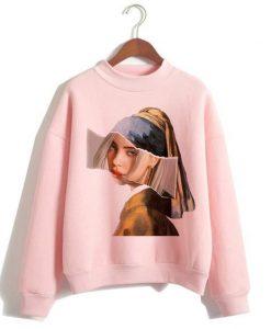 Billie Eilish Casual Sweatshirt AY