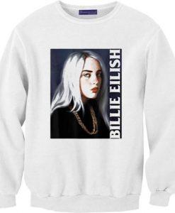 Billie Lover Eilish Music Gift Sweatshirts DAP