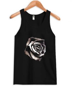 Black rose tank top AY