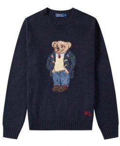 Brand New w Tags Polo Bear sweater AY