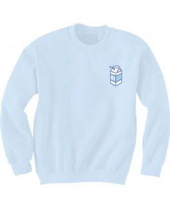 Branded Short Domain Sweatshirt ZNF08