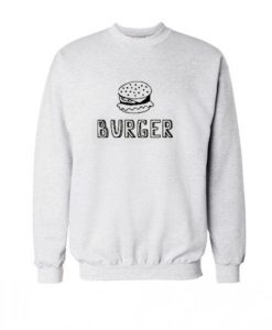 Burger Sweatshirt ay
