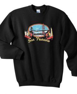 California san francisco sweatshirt DAP