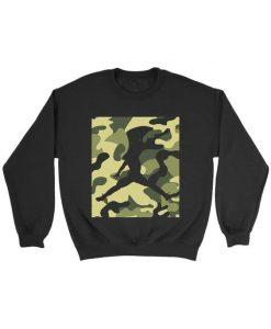 Camo Jordan Jumpman sweatshirt DAP