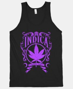 Cannabis Indica Tank Top AY