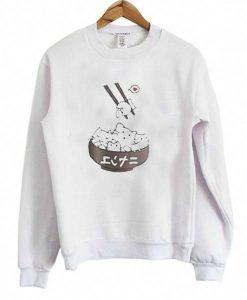 Cat Japanese Art Food Unisex Sweatshirts ay