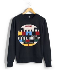 DAMTV Black Sweatshirt AY